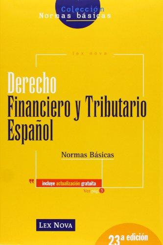 Derecho financiero y tributario español : normas básicas (Paperback): Alejandro Menéndez Moreno
