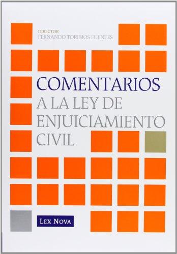 9788498983852: Comentarios a la Ley de Enjuiciamiento Civil