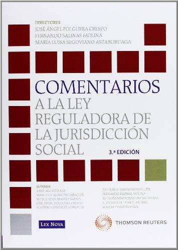 9788498984491: Comentarios a la Ley Reguladora de la Jurisdicción Social