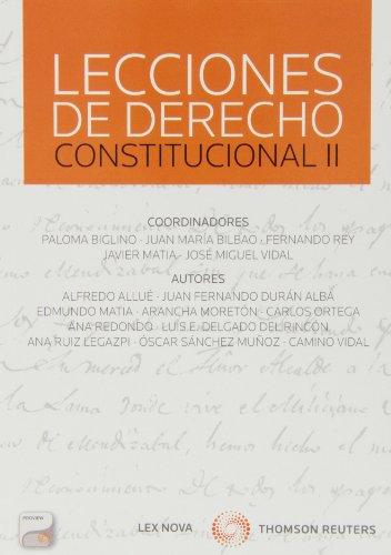 9788498986433: Lecciones De Derecho Constitucional Ii