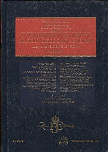 9788499030838: MODERNIZACION DEL DERECHO DE SOCIEDADES DE CAPITAL EN ESPA�A 2 VOLS