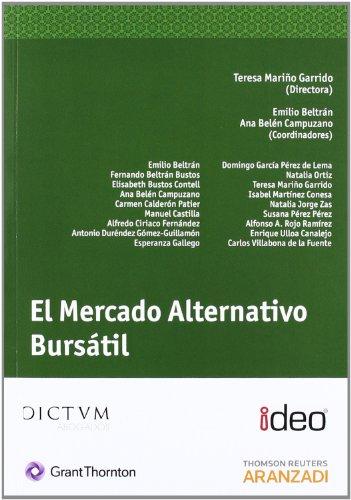 9788499031170: El mercado alternativo bursátil (Monografía)