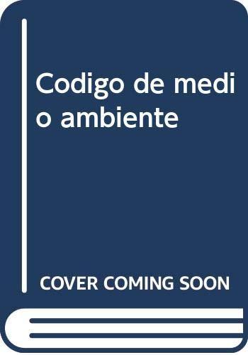 9788499032665: (7ª ed.) codigo de medio ambiente (Codigos 2009 (aranzadi))