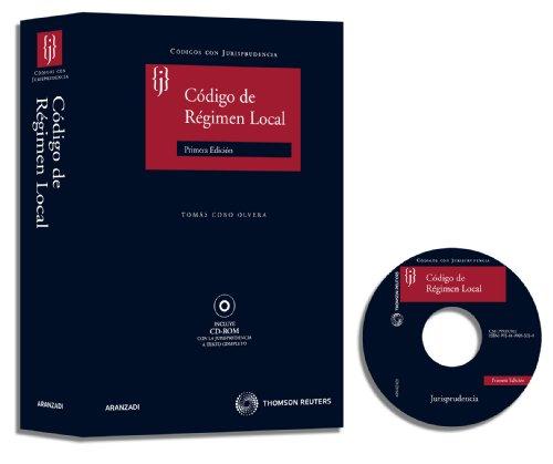 9788499033280: CODIGO JURISPRUDENCIA REGIMEN LOCAL (INCLUYE CD)