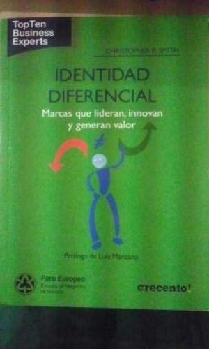 9788499033396: Identidad diferencial (Topten Business Experts)