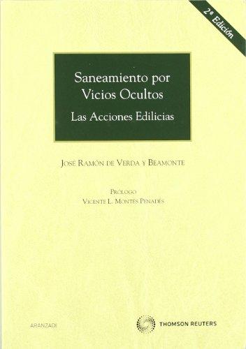 9788499034157: Saneamiento por vicios ocultos - Las acciones edilicias (Monografía)