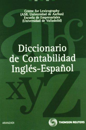 9788499034591: Diccionario de contabilidad inglés-españo / English to Spanish Accounting Dictionary (Spanish Edition)
