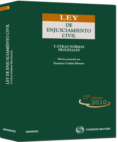 9788499036007: Ley de Enjuiciamiento Civil: y otras normas procesales (Código Universitario)