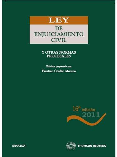 9788499039176: Ley de Enjuiciamiento Civil: y otras normas procesales (Código Básico)