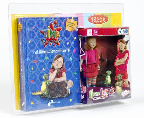 9788499060545: Muneca + Tina Superbruixa I El Llibre D'encanteris / Doll + Kika Superwitch and Spellbook (Catalan Edition)