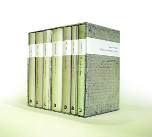 En busca del tiempo perdido: (Edición estuche: Marcel Proust