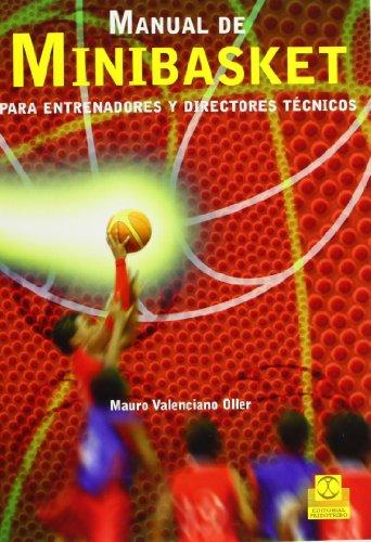 9788499101552: Manual de minibasket para entrenadores y directores técnicos