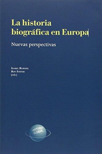 9788499113371: La historia biográfica en Europa