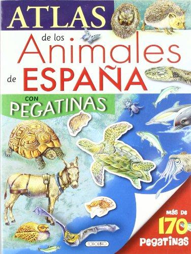 9788499131016: Atlas de los animales de España con pegatinas