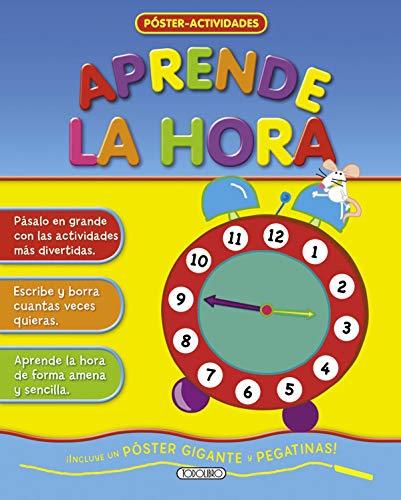 9788499134062: Aprende la hora (Poster - actividades)