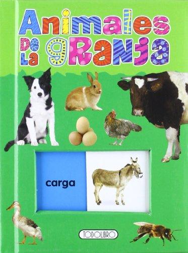 9788499135243: Animales de la granja (Desliza y aprende)