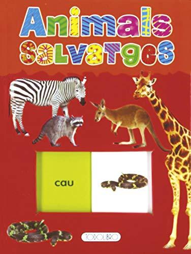 9788499135311: Animals salvatges (Lliscar i aprende)