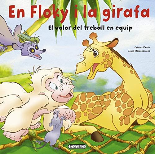 9788499135458: En Floky i la girafa. El valor del treball en equip (En floky a la selva)