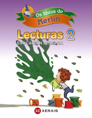 9788499145112: Os libros de Merlín. Lecturas 2º EP
