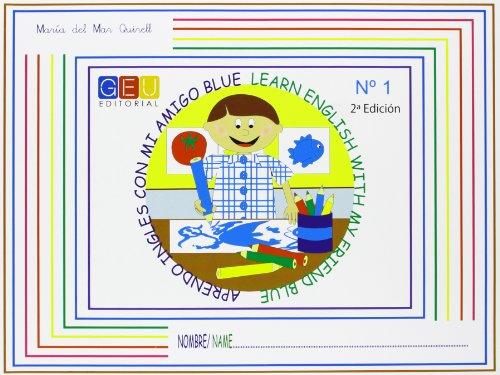 9788499150734: Aprendo inglés con mi amigo Blue
