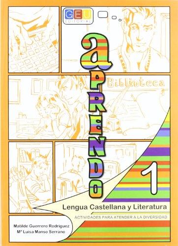 9788499150826: Aprendo lengua castellana y literatura 1