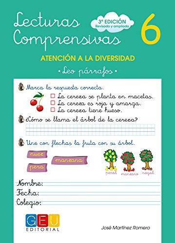 Lecturas comprensivas.Leo párrafos.: Martínez Romero, José