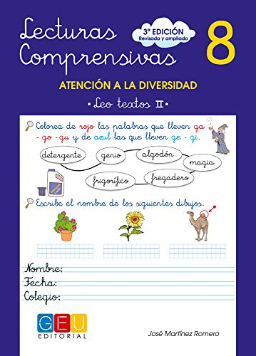 9788499151397: Lecturas comprensivas 8