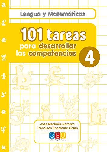 9788499154763: 101 Tareas para desarrolar las competencias. Cuaderno 4