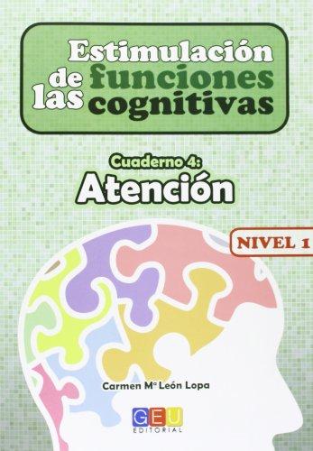 9788499156132: Estimulación de las funciones cognitivas Nivel 1 Atención
