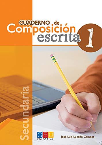 9788499159423: Cuaderno de composición escrita 1 (Español Lengua Extranjera)