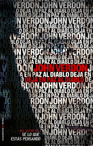 9788499184944: Deja en paz al diablo (Spanish Edition)