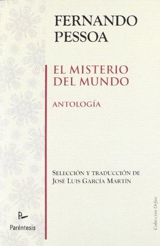9788499190341: El Misterio Del Mundo (Orfeo (parentesis))
