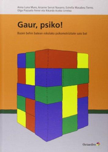 9788499214498: Gaur Psiko (Octaedro Euskera)