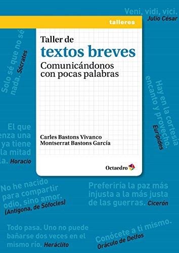 Taller De Textos Breves (Talleres): Bastons Vivanco, Carles;