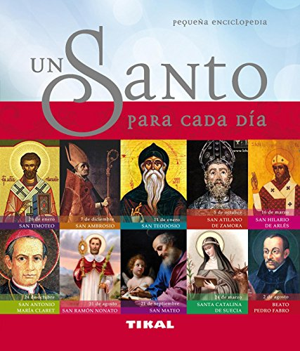 9788499281926: Un santo para cada día (Pequeña Enciclopedia)