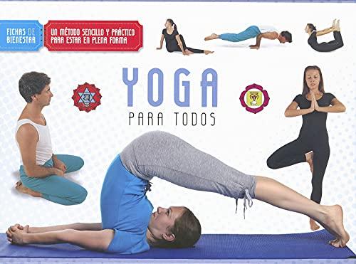 9788499282299: Yoga para todos (Fichas de bienestar)