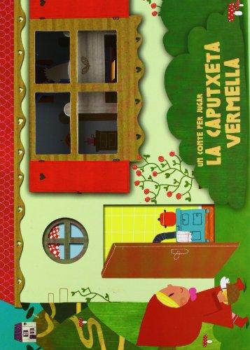 9788499329314: La Caputxeta vermella. Un conte per jugar (LUPITA BOOKS)