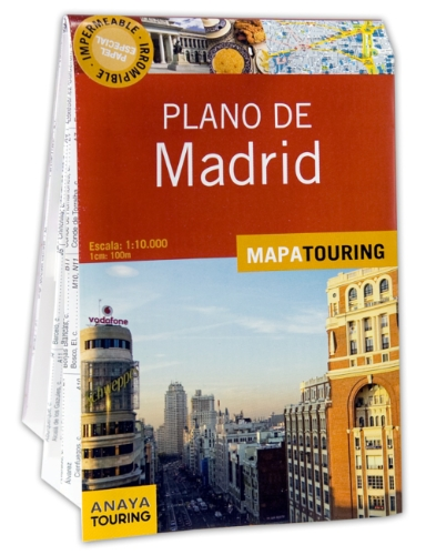 9788499351674: Plano callejero de Madrid (Mapa Touring)
