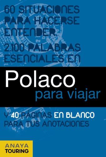 9788499354873: Polaco para viajar / Polish to travel (Spanish Edition)