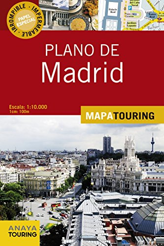9788499356198: Plano de Madrid / Madrid Road Map (Spanish Edition)