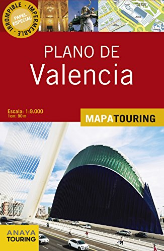 9788499356204: Plano Valencia / Map of Valencia: Escala 1:9.00 1cm 90m (Spanish Edition)