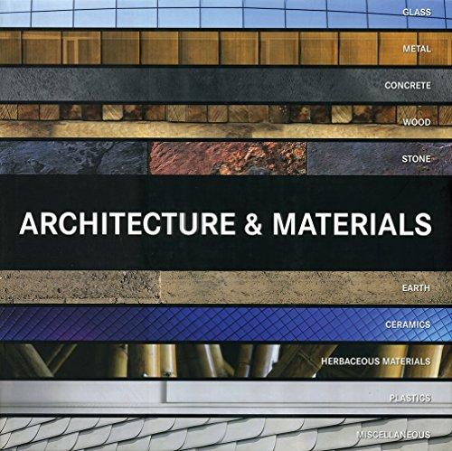 9788499367675: Architecture Materials