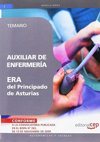 9788499372037: AUXILIAR DE ENFERMERIA ERA DEL PRINCIPADO DE ASTURIAS TEMARIO