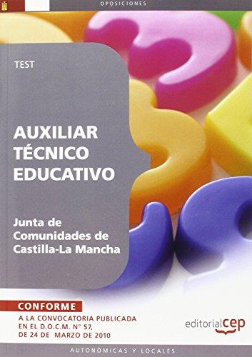 9788499377650: Auxiliar Técnico Educativo. Junta de Comunidades de Castilla-La Mancha. Test (Colección 364)