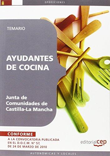 9788499377667: Ayudantes de Cocina. Junta de Comunidades de Castilla-La Mancha.Temario