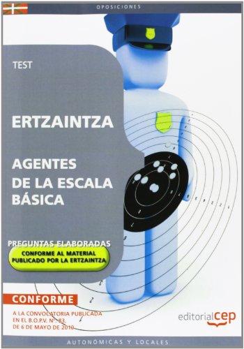9788499379470: Ertzaintza. Agentes de la Escala Básica. Test (Colección 512)