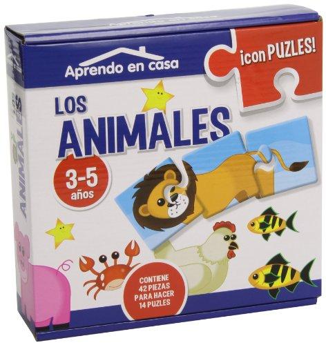 9788499394350: Puzzles Educativos Los Animales (3 Piezas)