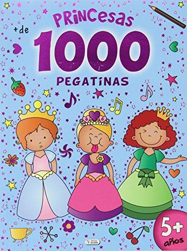1000 pegatinas. Princesas: Fénix Factory