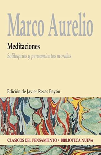 9788499400822: Meditaciones. Soliloquios y pensamientos morales (Spanish Edition)
