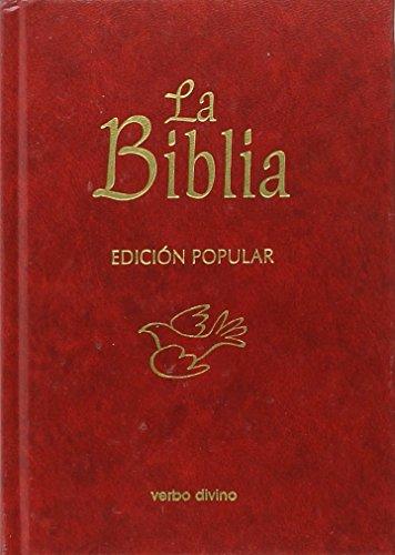 9788499451985: La Biblia - Edición popular (Cartoné): (cubierta cartoné) (La Biblia (Texto